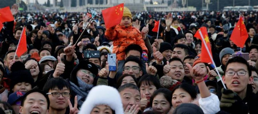By 2029 China's Population anticipated to peak
